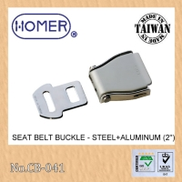 Aluminum safety buckle