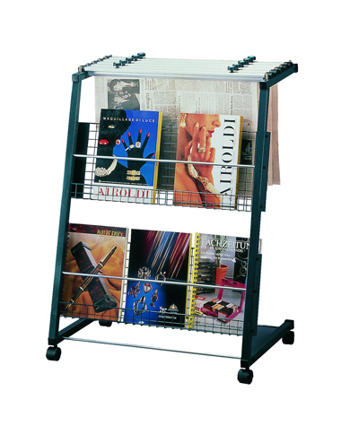 NS-300 NEWSPAPER & MAGAZINE STAND, STATIONERY