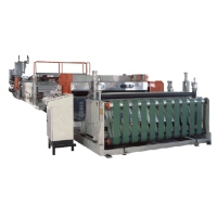 PC Hollow Profile Sheet Extrusion Line