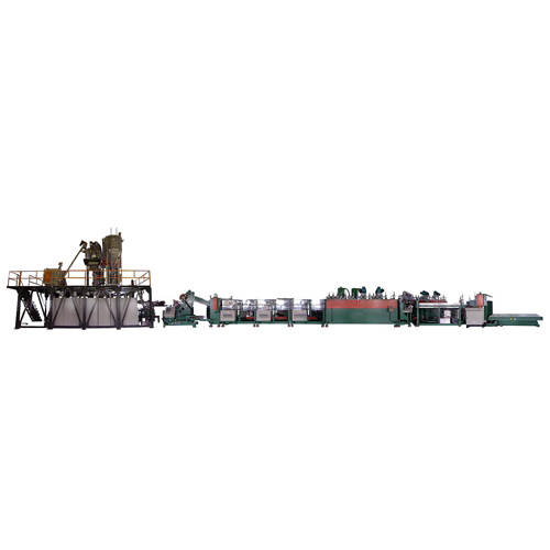 PP Corrugated sheet Extrusion Machine