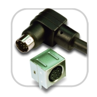 Mini DIN jacks and cables