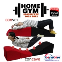 Home Gym Spongecube Yoga Sofa