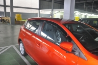 Injection Window Visor,Door Visor , Window Deflecor , vent visor for Yaris 14~