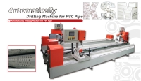 Automatically Drilling Machine for PVC Pipe