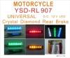 Motorcycle Universal Crystal Diamond Rear Brake
