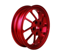 12 FORGED ALUMINUM RIM/ FRONT DISK FOR VESPA LX 150IE