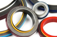 Rubber PTFE bonded seals
