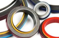 Rubber PTFE bonded seals