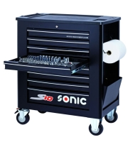 SONIC 8Ds 277pc tools S10 trolley (black)