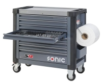 SONIC 8Ds 644pc S12 tools trolley