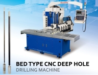BED TYPE CNC DEEP HOLE DRILLING MACHINES