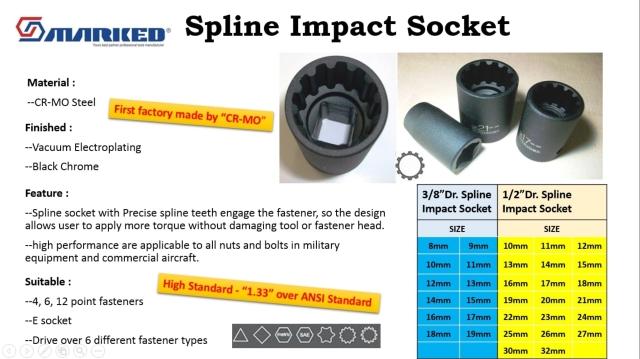 Impact Spline Socket