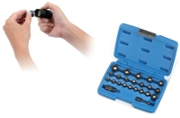 IMPACT SOCKET WITH MAGNETIC SETS WITH BLOWCASE