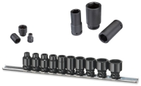 IMPACT SOCKET STANDARD TYPE IRON CLIP RAIL SETS