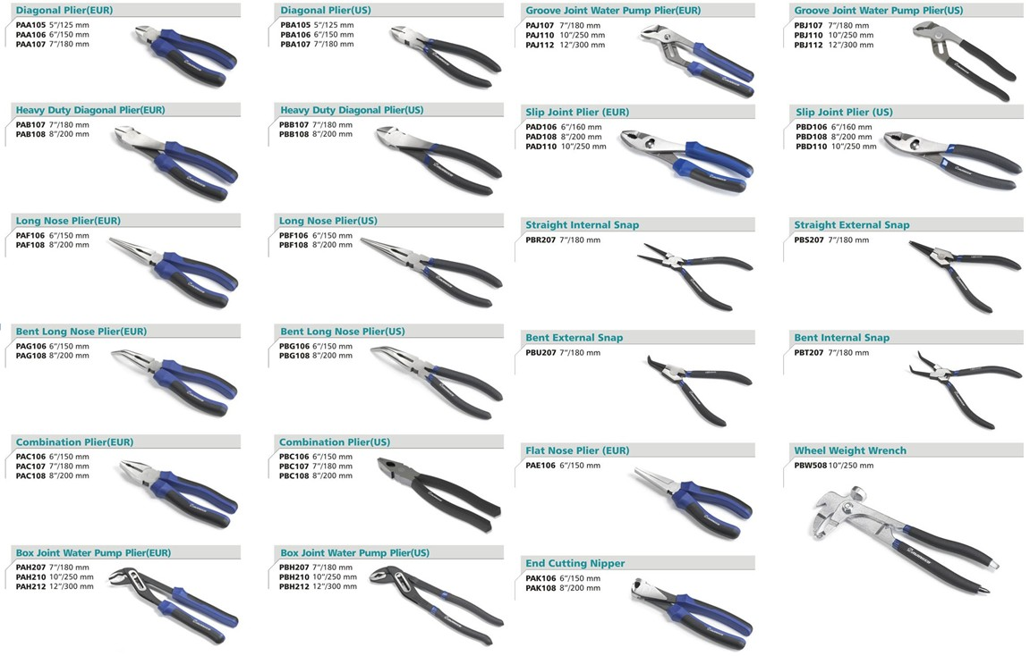 Pliers Wei Ching Industry Co Ltd Product Information