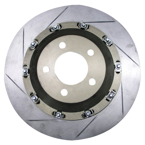 Enlarged Floating Brake Discs (Two-Piece Model)