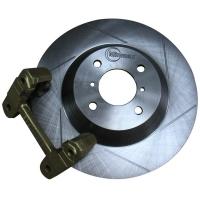 Enlarged Grooved Brake Discs