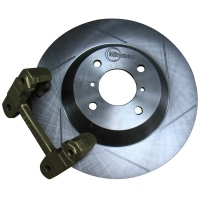 Enlarged Grooved Brake Discs