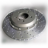 Enlarged Floating Brake Discs