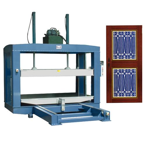 油壓式不銹鋼門板膠合壓台