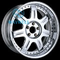 3 PIECE Al-Mg ALLOY WHEEL