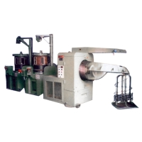 Double Deck Continuous Wire Drawing Machine