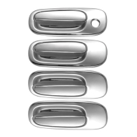 Plastic Chrome Door Handle Covers