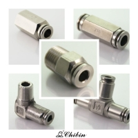 Push-in Pneumatic Fittings