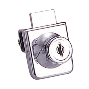 Glass door lock