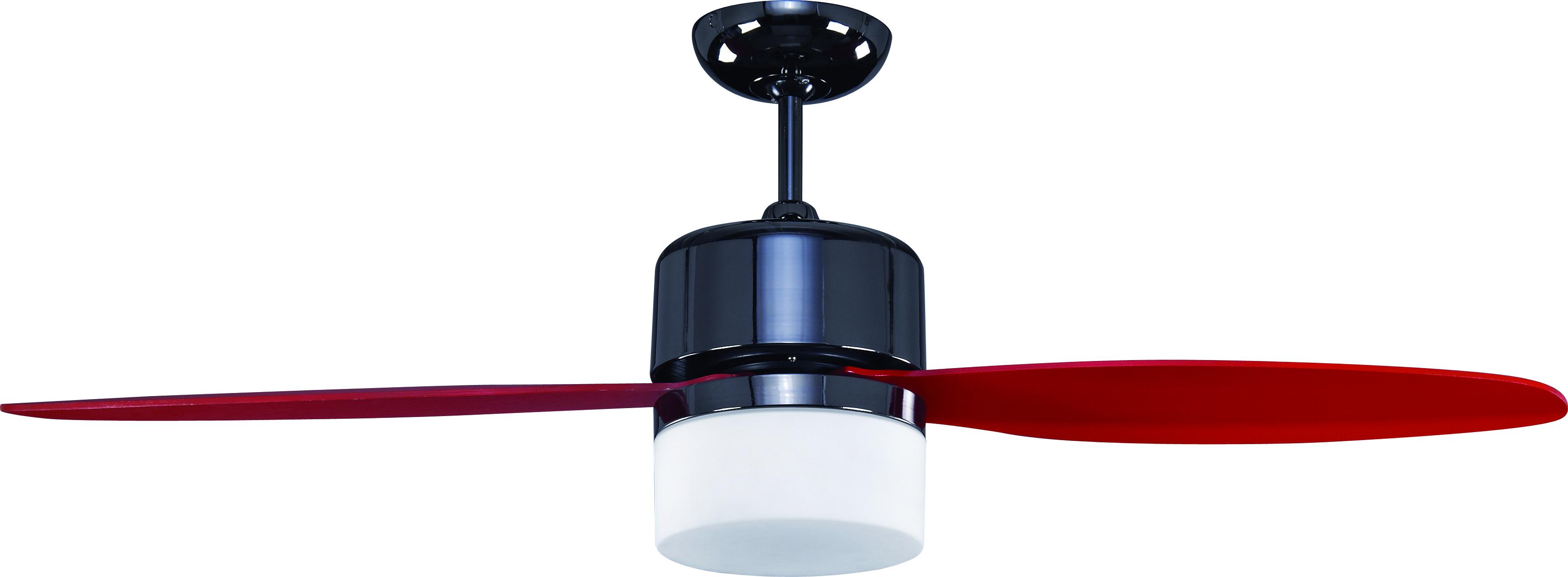 15319【Light Fan】Dazzling Red
