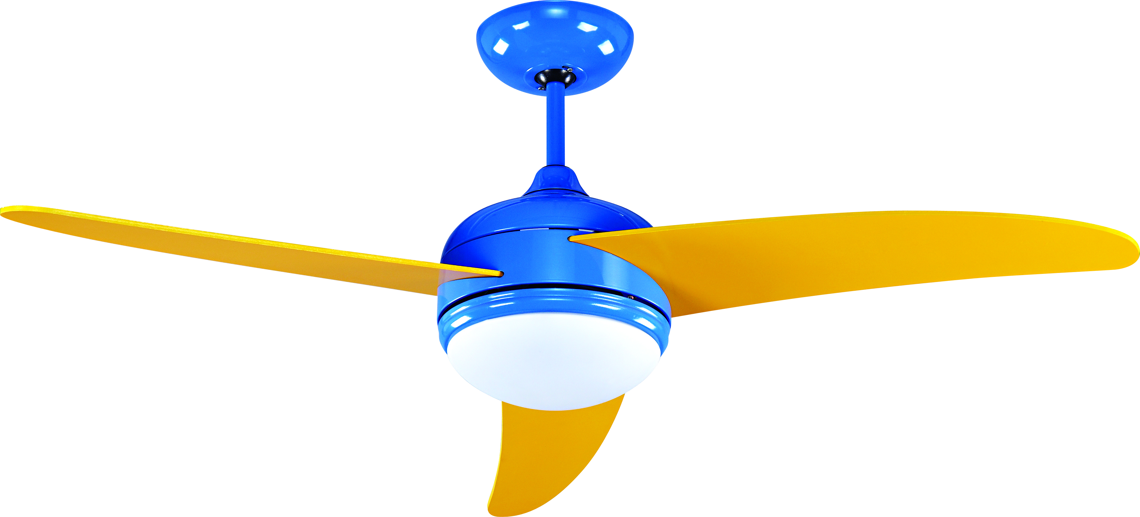 15309【Light Fan】Mt Fuji/Blue Yellow