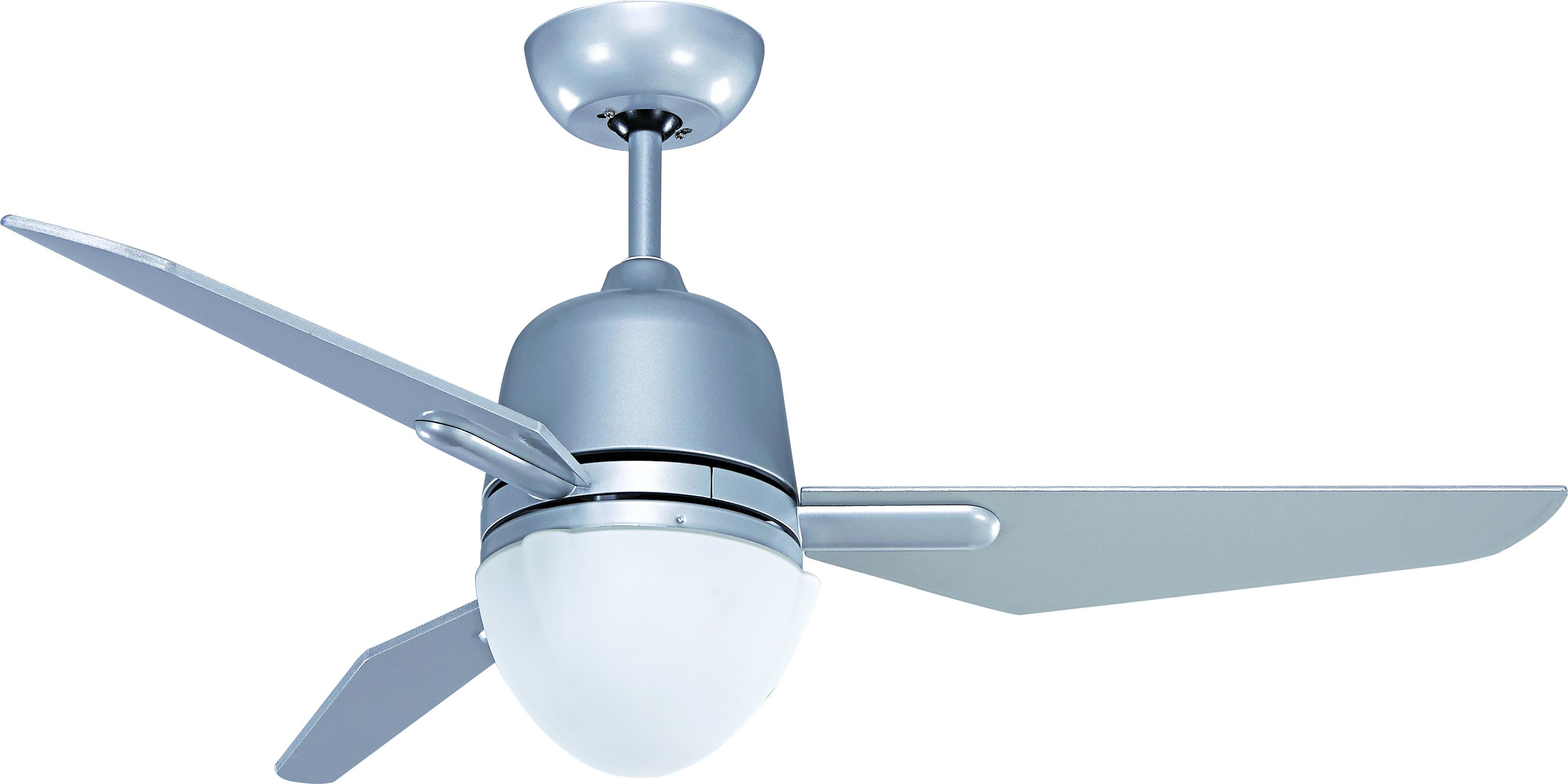 15289【Light Fan】Wind Power,  BLDC Brushless DC/Silver