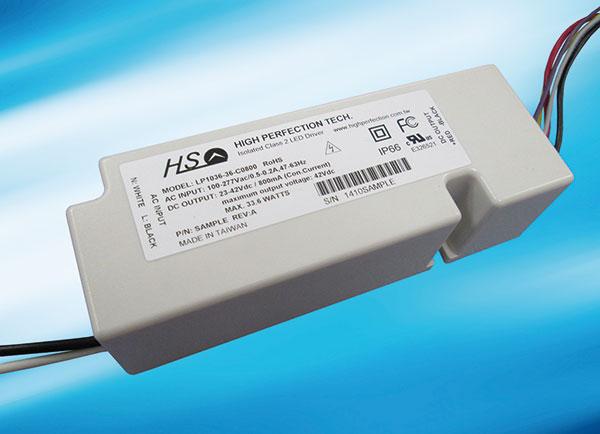 LP1036 Series - (20~40W), AC / DC, Dimm- 0-10V, VR, PWM