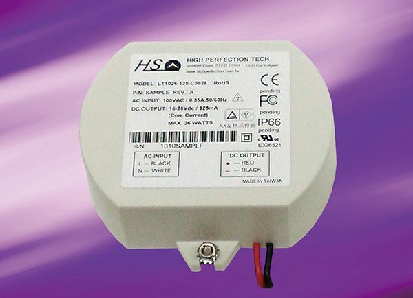 LT1026-1XX Series - LT1026-1XX(11-16.8W), AC / DC, , Dimm-Triac AC (110V)