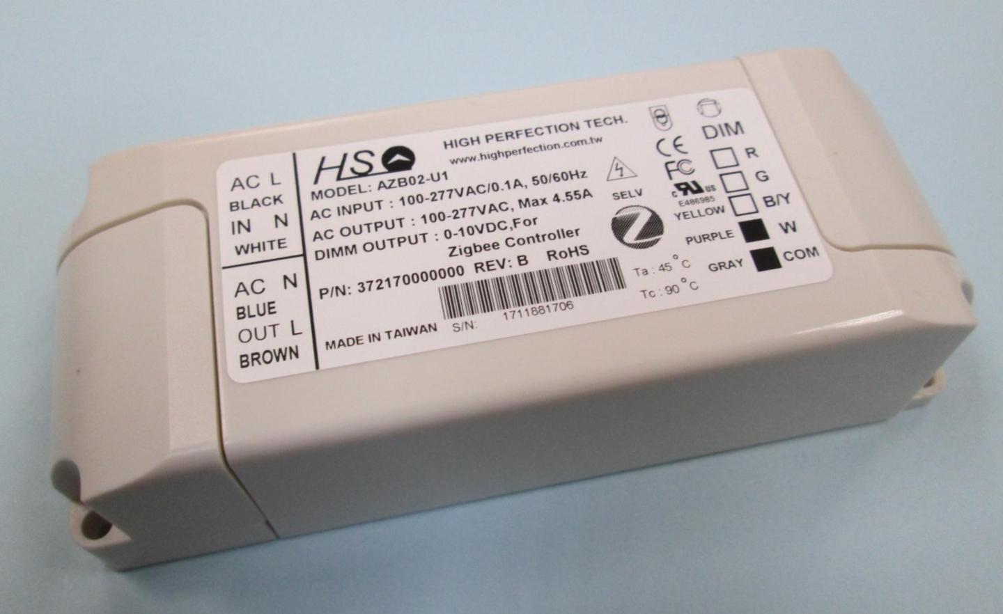 AZB02 Series - LED Driver - Switching Power Supply