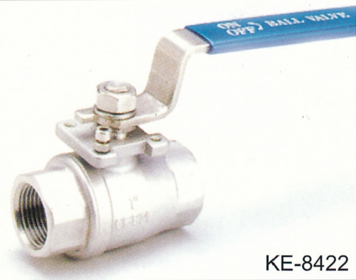 2-PC BALL VALVE WITH ISO TOP FLANGE