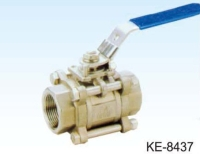 3-PC TYPE BALL VALVE WITH ISO TOP FLANGE