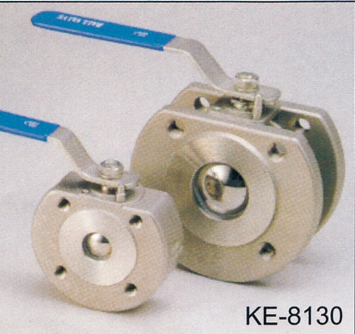 1-PC WAFER TYPE BALL VALVE