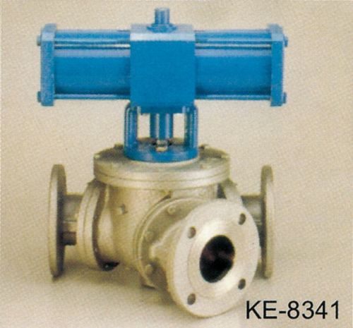 BALL TYPE DIVERTER VALVE, FLANGED ENDS