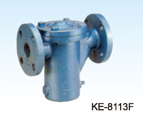 SINGLE BUCKET TYPE STRAINER, FLANGED ENDS