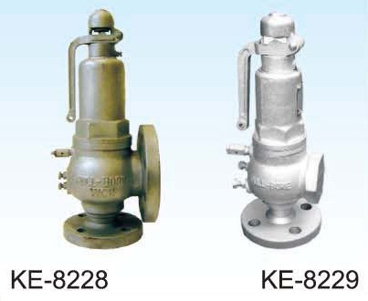 SAFETY VALVE, FLANGED AND SCREWED ENDS