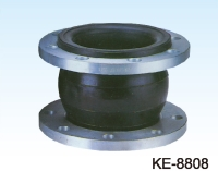 RUBBER EXPANSION JOINT, FLANGED ENDS