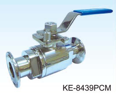 2-PC TYPE POLISHED BALL VALVE,(FOOD & SANITARY GRADE) CLAMP & BUTT-WELDED ENDS