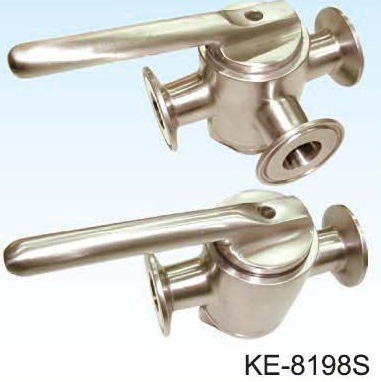 2-WAY, 3-WAY PLUG VALVE(FOOD & SANIARY GRADE) CLAMP ENDS, BUTT-WELD ENDS & NAKE EBDS