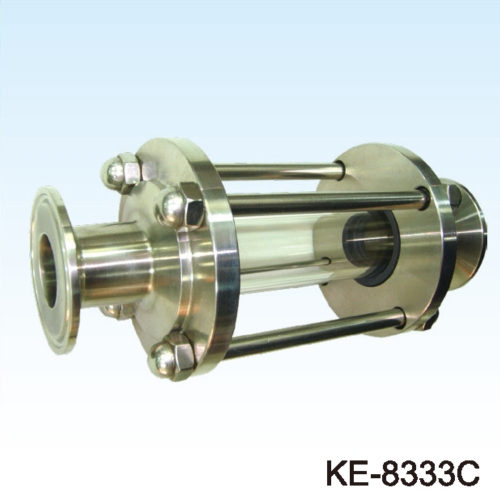 SIGHT GLASS (FOOD & SANITARY GRADE) CLAMP ENDS