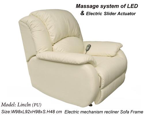按摩休閒電動沙發躺椅