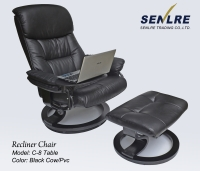 Recliner Chair with Table
