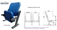 WD-103 Class Room Connecting Chairs