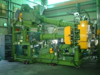 Triplex Extruder For Tire Tread & Side-Wall Extrusion