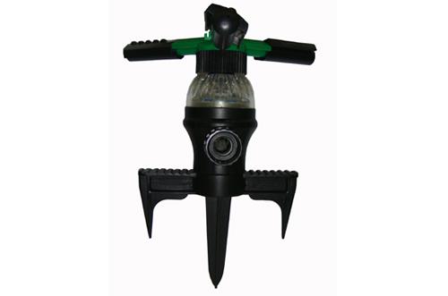 3-Arm LED Spike Sprinkler
